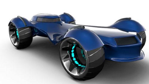 جمال المستقبل لتصميم السيارات
