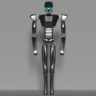 Futuristic Sci-fi Humanoid Cyborg