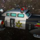 Galactisch politieschipvoertuig