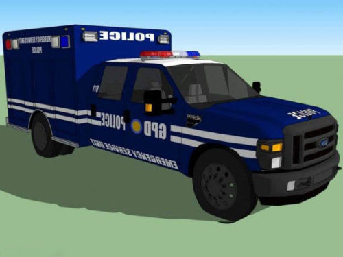 الشرطة خدمة الطوارئ شاحنة