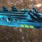 Galactische keizerin Luxe ruimteschip