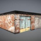 Garage Bakstenen huis