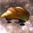 Kosmická loď kosmických lodí Sci-fi
