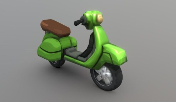 Cartoon Hcr2 Scooter Vehículo