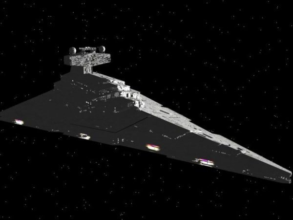 Nave espacial Imperial Star Destroyer