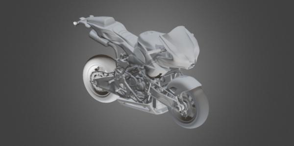 دراجة نارية Ceoncept هوندا Vyrus