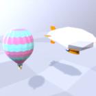 Zeppelin Hot Air Balloon
