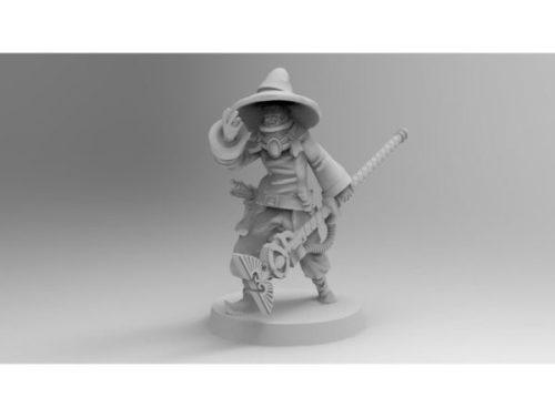 Personagem do Assistente da Guarda Imperial