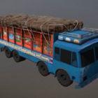 Indischer Fahrzeugtransporter