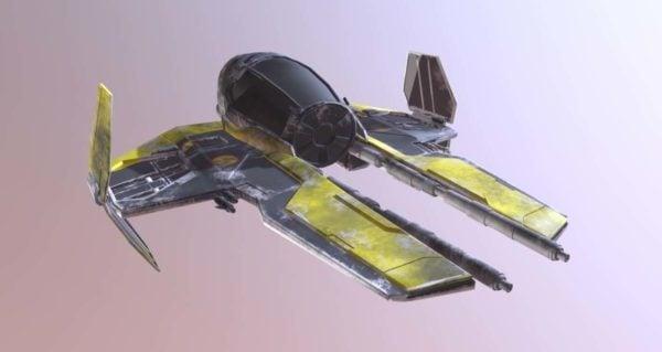 الخيال العلمي جيدي سفينة الفضاء