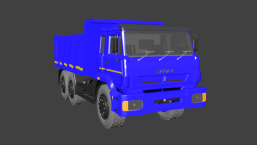 Kamaz-raskas kuorma-auto