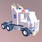 Lego Squad tung lastbil