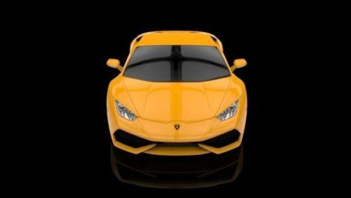 سيارة لامبورغيني هوراكان الصفراء
