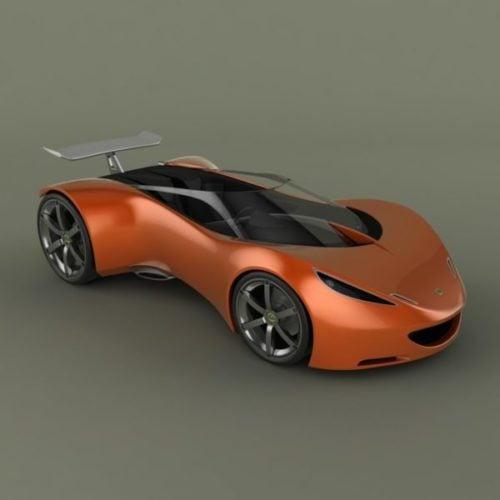Car Lotus Hot Wheels -suunnittelu