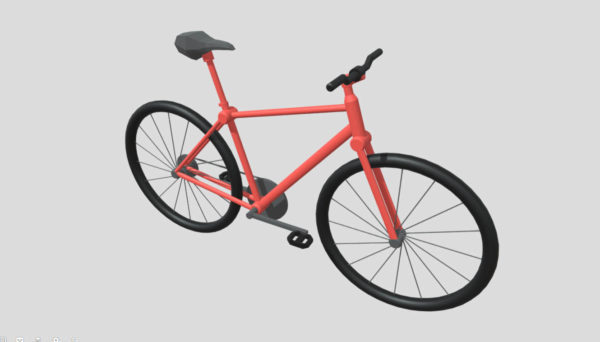 Matala poly polkupyörän suunnittelu