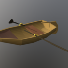 木製の手Boatぎボート