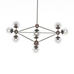 Design simples de teto Cosmo Lustre