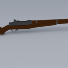 M1 Garand Wwii Rifle Gun