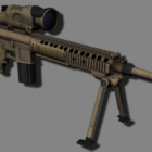 Military M110 Scope Gun