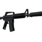 Military M4a1-s Rifle Gun