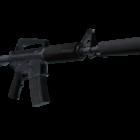 Sotilaallinen M4a1-s kivääri