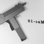 Ruční pistole Mac-10
