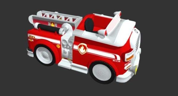 مارشال حريق شاحنة مركبة