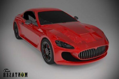 Maserati Sedan Car