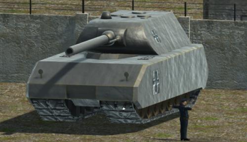 دبابة ماوس الثقيلة