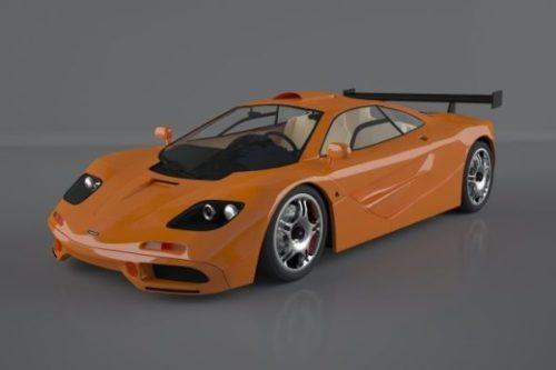 Mclaren F1 Car Ver 1994