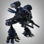 Carácter de armadura de robot