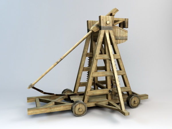 Medieval Trebuchet Weapon
