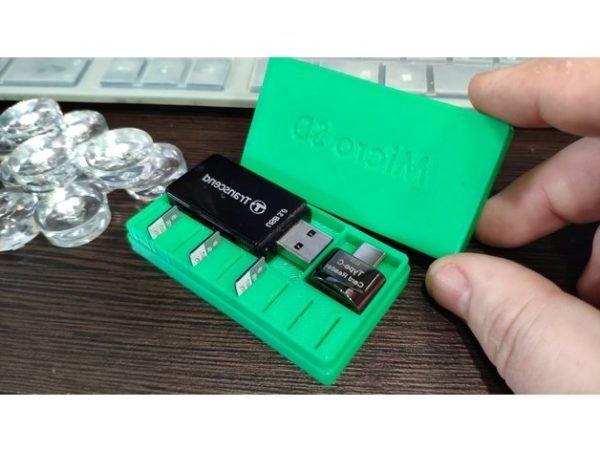 Micro Sd Card Travel Box Printable