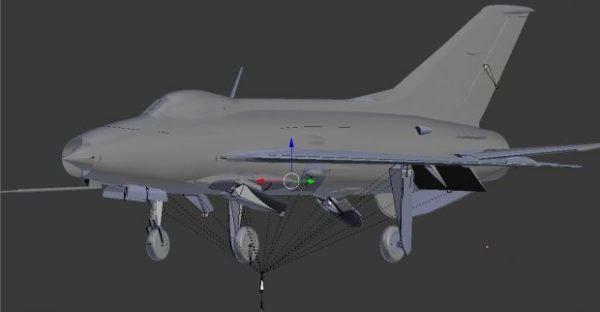 Mig 21c lentokone