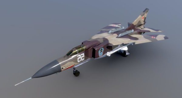 طائرات ميغ 23 العسكرية