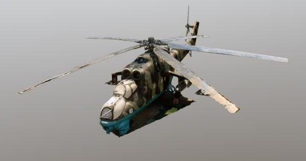 Helicóptero militar Mi-24