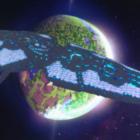 Minecraft Gaming Ruimteschip