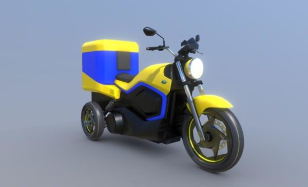 Moto Motiva Motorbicycle