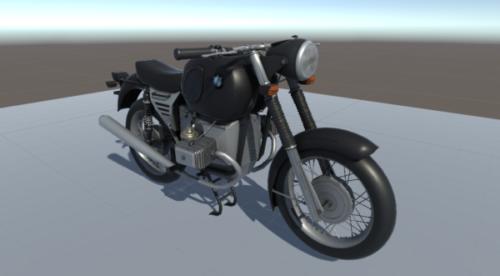 Motocicleta Vintage Bmw 75