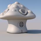 キノコの家の設計