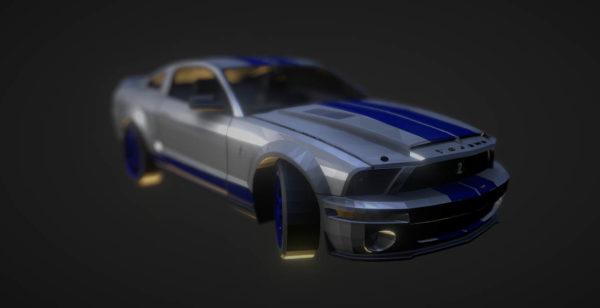 Mustang Shelby Sedan -auto
