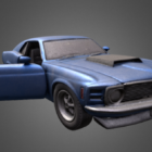 Toy Mustang Tcar