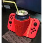 Porte-boisson Nintendo Switch Joy Con imprimable
