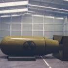格納庫の爆弾核
