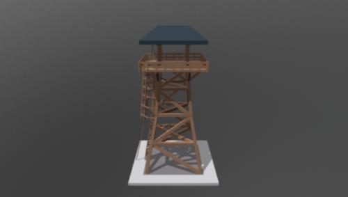 تصميم برج المراقبة
