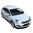 Coche Opel Astra Blanco