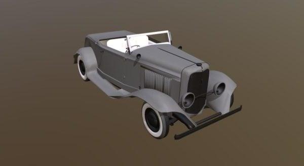 Old Vintage Car Design