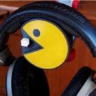 Yazdırılabilir Pac-man Kulaklık Yuvası