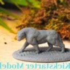 Panther Sculpt Printable