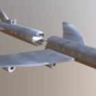 Un avion militaire s'est écrasé